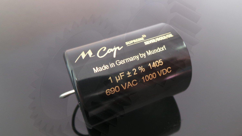 Mundorf MCAP Supreme Silber Gold Öl Classic 2,20 µF